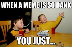 meme so dank you just
