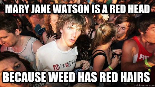 spiderman mary jane meme the history of stoner memes all things dank,Mary Jane Memes